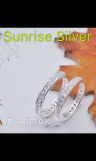 Wedding ring 92.5 silver P50 off