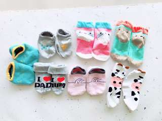 7 pcs kaos kaki set