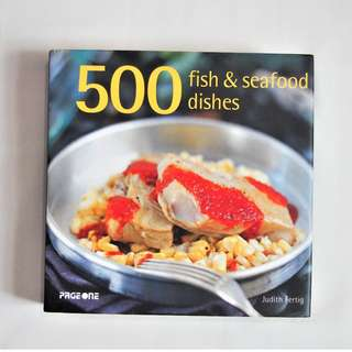 500 fish & seafood dishes