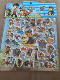 Paw Patrol Stickers (2 pages)
