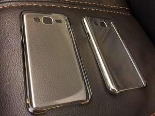 Samsung J5 硬手機殻 3個(銀邊,金邊,透明)