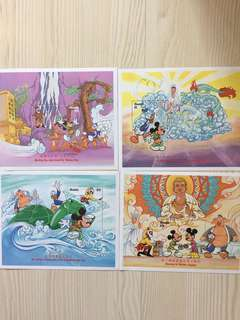 Disney stamps Mickey's Journey to the west 迪士尼郵票米奇西游記