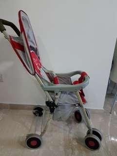 Baby one light stroller