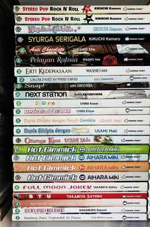 Gempak Starz Manga/Comic Partial Collection (Pre-Loved)
