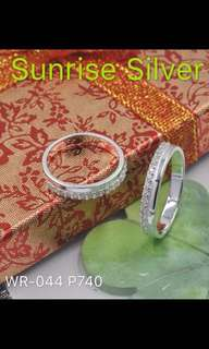 Couple ring 92.5 silver w/ P50 off