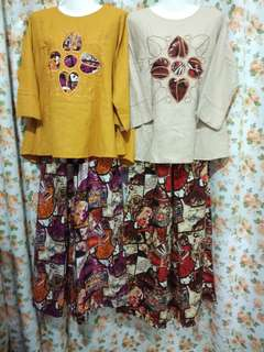 Baju dan Seluar Batik New