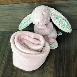 Jellycat Blossom Bunny Soother Blanket - Tulip