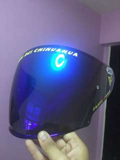 Shoei CjJ 2 Blue (for J-force4)