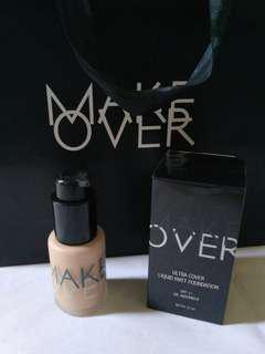 Ultra Cover Liquid Matt Foundation MAKE OVER