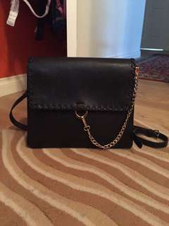 Cooper St Bag gold chain handbag satchel velvet interior corporate