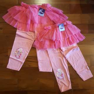 Disney legging tutu sleeping beauty
