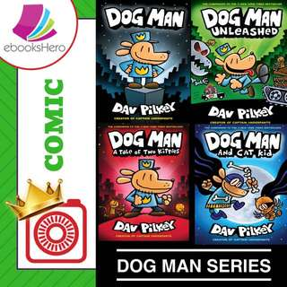 Dog Man Series - 4 books