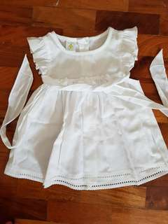 St. Patrick White Dress