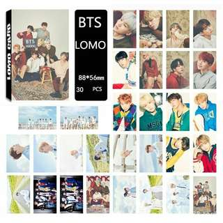 BTS Face Yourself Lomo Cards