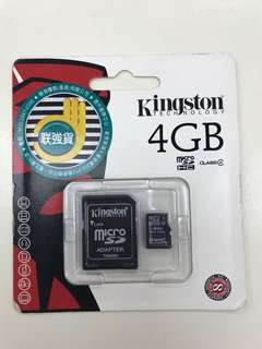 Micro SD Card 4GB