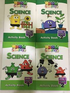 Shapeys Science Activity Books