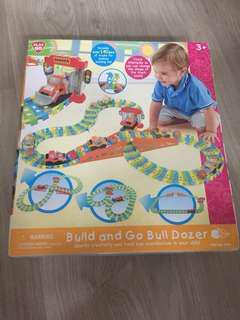 Play Go Bulldozer set 火車軌