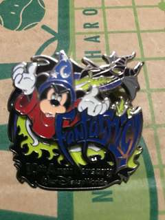 Disney Walt Disney World Pin 10th Anniversary Limited Rare