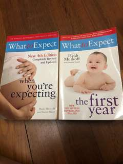 What to expect when you're expecting and the first year