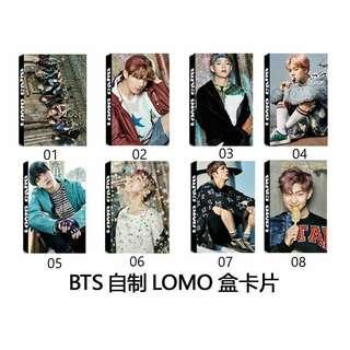 BTS YNWA Lomo Cards