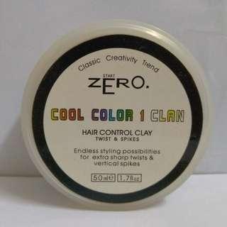 White hair control clay 白色髮泥
