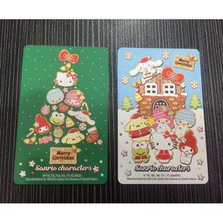 🆕 Limited Edition Sanrio Charactor Xmas 2017 Ezlink Card
