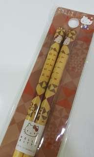 Hello Kitty 木製筷子