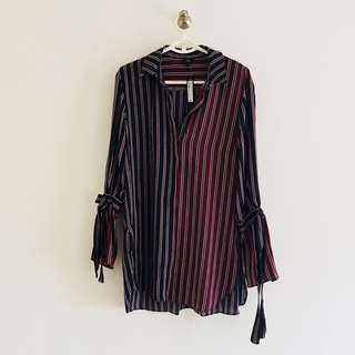 BNWT River island Tied Sleeves Top