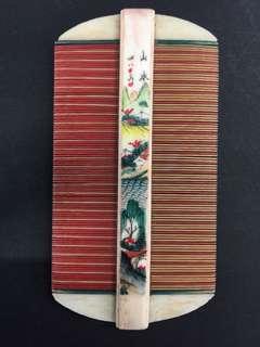 Vintage Chinese Style Comb-Bi 篦 中国制造常州名篦
