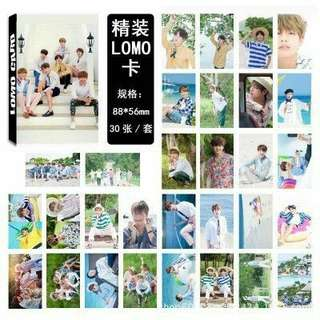 BTS Summer Package Lomo Cards