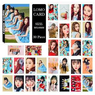 Red Velvet Rookie Lomo Carda