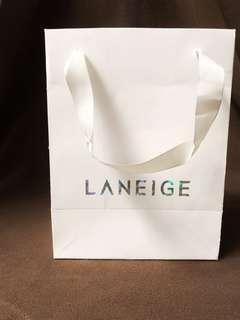 Laneige paperbag