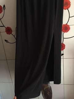 Rok Belah Panjang All Size