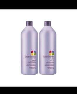 BULK: Pureology Hydrate Shampoo & Conditioner 1L