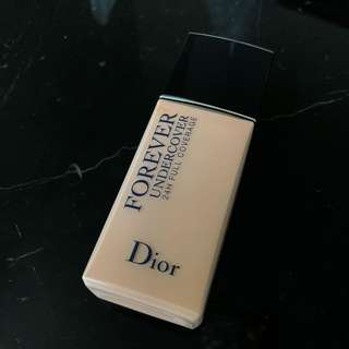 Dior Forever Undercover Foundation – 012