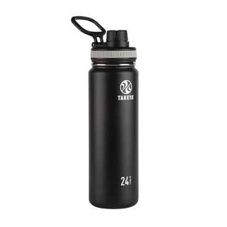 [IN-STOCK] Takeya Originals Vacuum-Insulated Stainless-Steel Water Bottle, 24oz, Black
