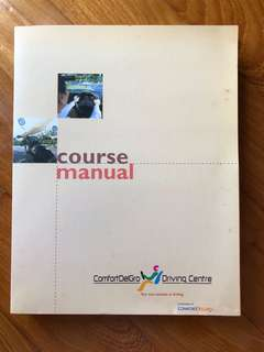 Driving course manual