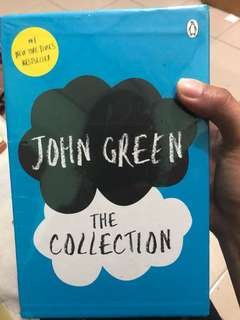 John Green collection novel