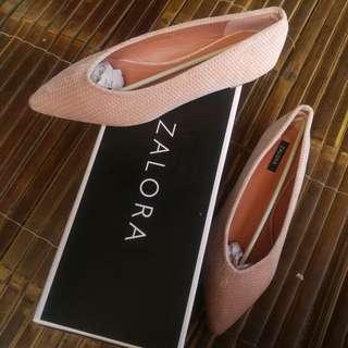 Sepatu zalora velvet