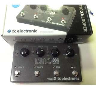 TC Electronics Ditto X4 Looper (9.9/10 - mint)