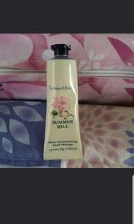 Crabtree and evelyn summer hill hand cream