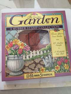 The country garden rubber stamp collection