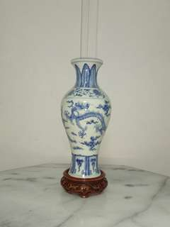 Qing Period Vase height 24cm perfect