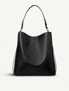 ALLSAINTS Paradise North South leather tote bag