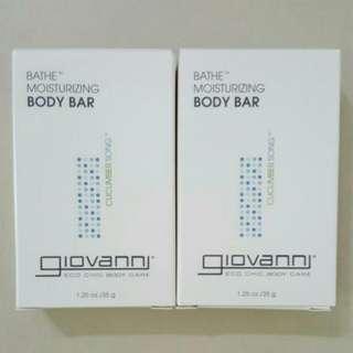🆕Brand New Giovanni Bath Moisturising Body Bar Soap
