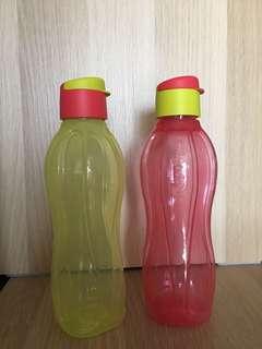 💥clearance 💥 Tupperware Eco Bottle 750ml x2pcs