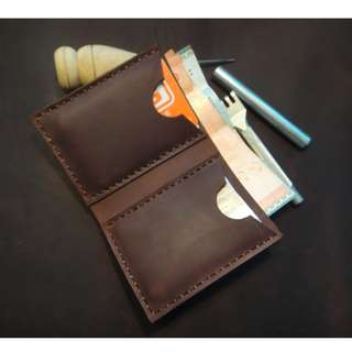 Leather Handmade Wallet (Customizable)