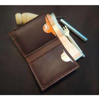 Leather Handmade Wallet (Customizable)