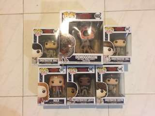 REPRICED STRANGER THINGS FUNKO POP