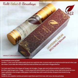 Sr12 Serum lightening